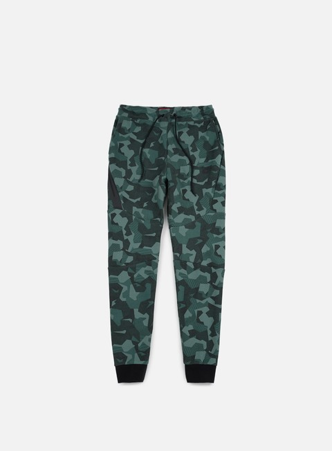pantaloni nike tech fleece jogger pant aop hasta black