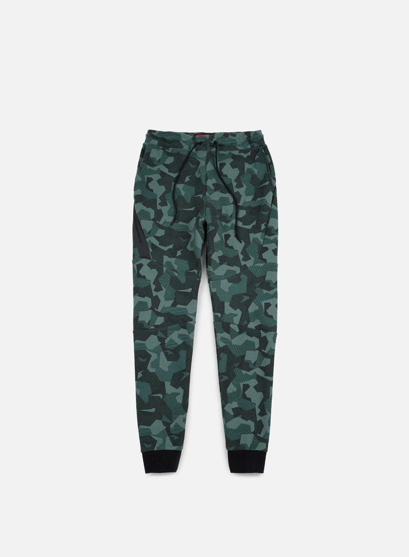 Nike - Tech Fleece Jogger Pant AOP, Hasta/Black