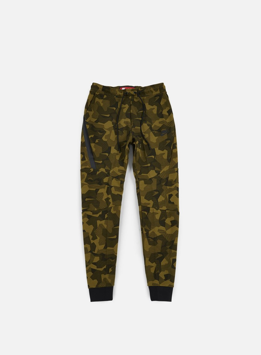 Nike - Tech Fleece Jogger Pant AOP, Olive Flak/Black