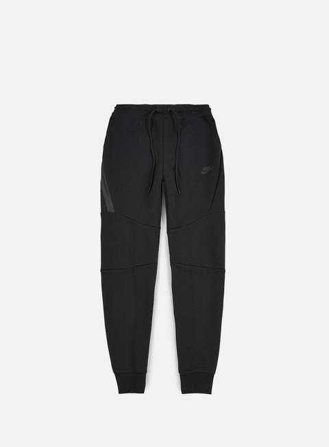 pantaloni nike tech fleece jogger pant black black