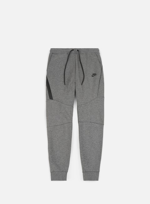 pantaloni nike tech fleece jogger pant carbon heather black