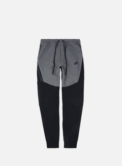 Nike - Tech Fleece Jogger Pant, Charcoal Heather/Black/Black