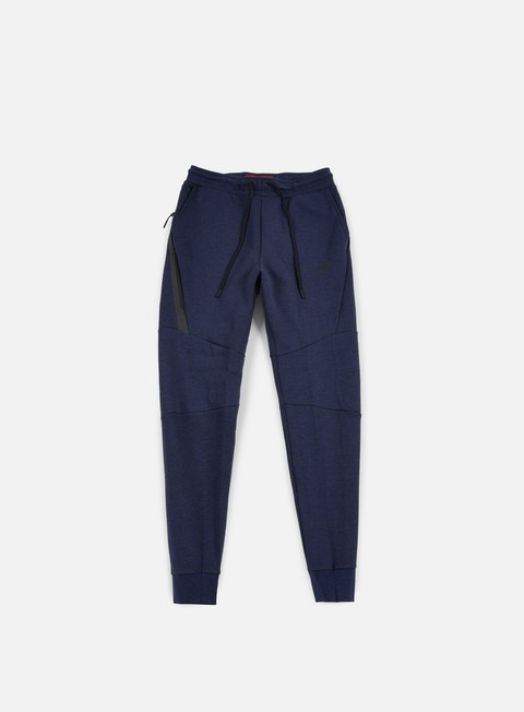 pantaloni nike tech fleece jogger pant obsidian heather black