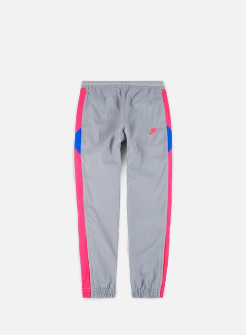 pantaloni nike vw woven pant wolf grey hyper pink photo blue