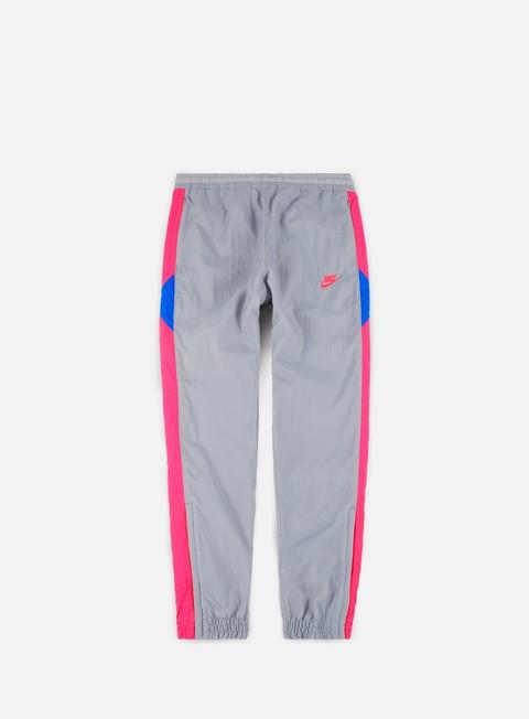 pantaloni nike vw woven pant wolf grey hyper pink photo blue