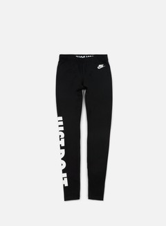 Nike - WMNS Leg A See Just Do It Tights, Black/White 1