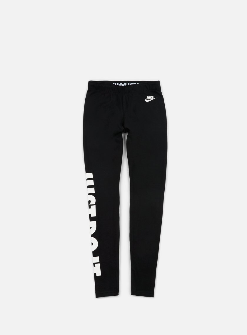 Nike - WMNS Leg A See Just Do It Tights, Black/White