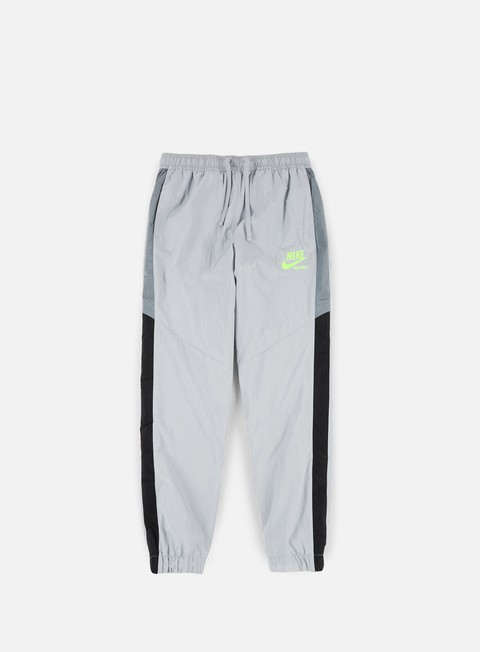 pantaloni nike woven archive track pant wolf grey cool grey