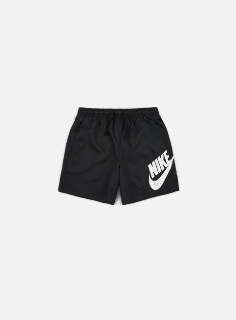 pantaloni nike woven flow short black black