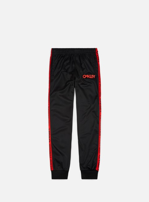 pantaloni oakley tnp tapered track pants blackout