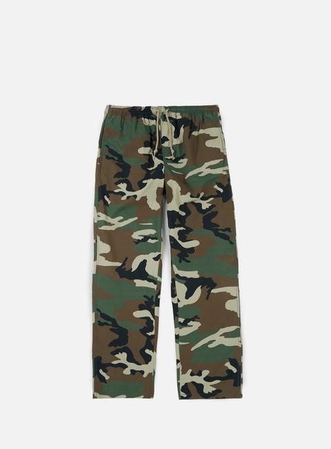 pantaloni obey easy camo pant field camo