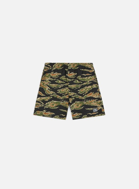 Outlet e Saldi Pantaloncini Corti Obey Easy Jungle Short