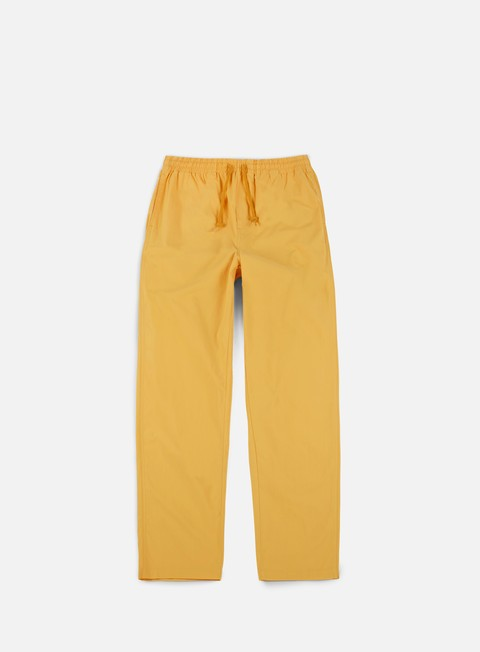 pantaloni obey easy pant dusty yellow