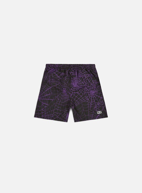 Obey Easy Relaxed Web Shorts