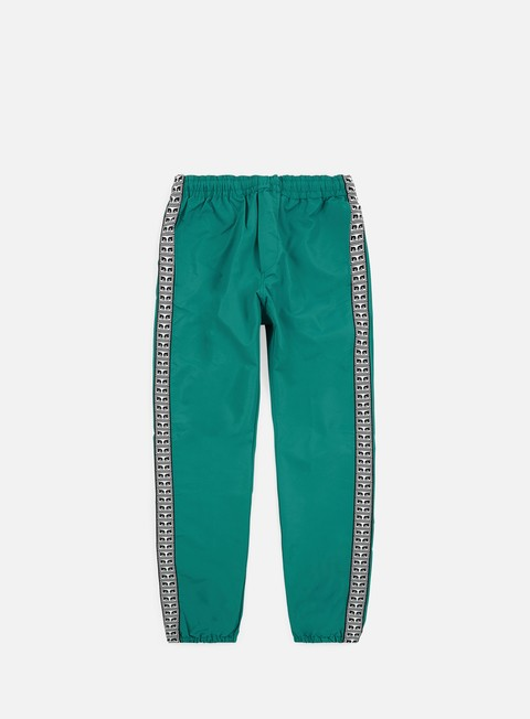 pantaloni obey eyes pant dusty teal