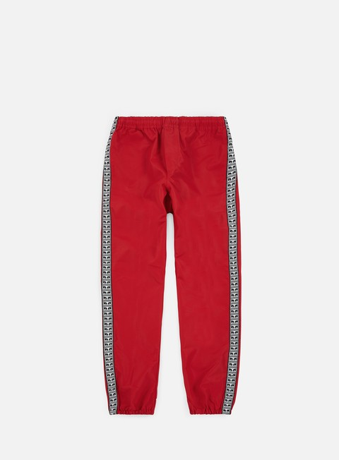 pantaloni obey eyes pant hot red