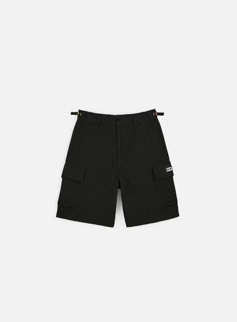 pantaloni obey fubar 90 s cargo short black