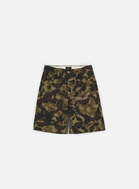 pantaloni obey lagger patch pocket short field camo