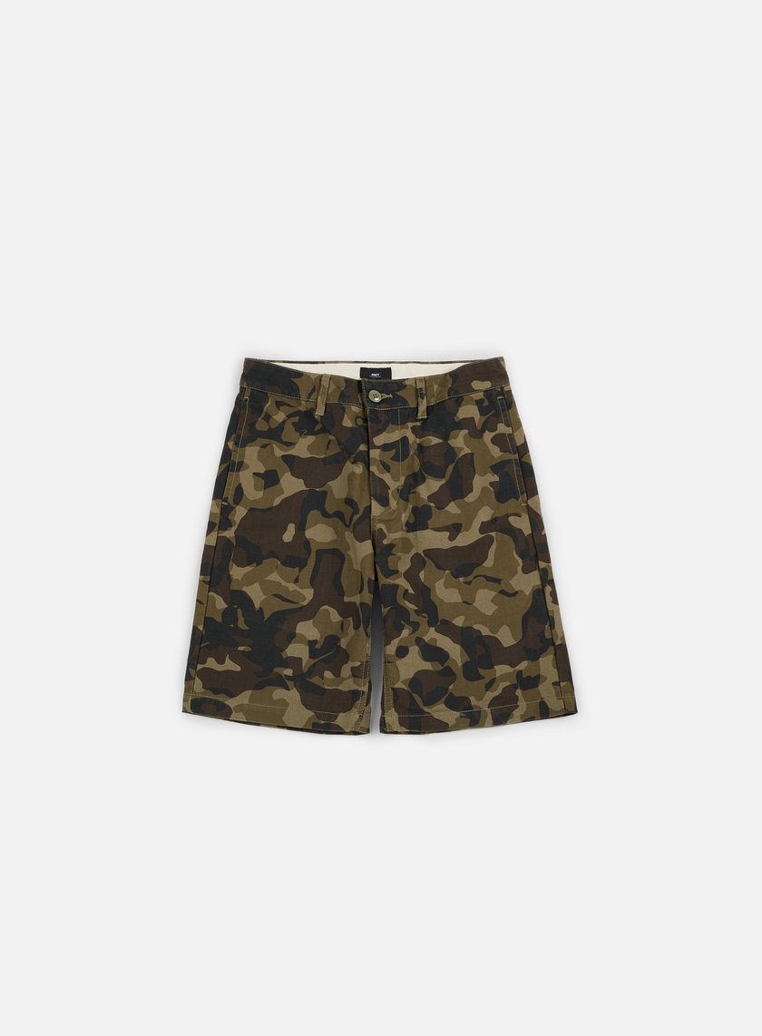 Obey - Lagger Patch Pocket Short, Field Camo