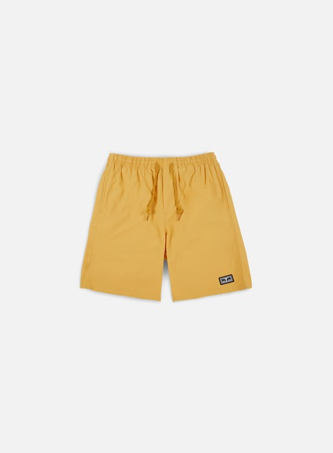 pantaloni obey legacy short iii dusty yellow