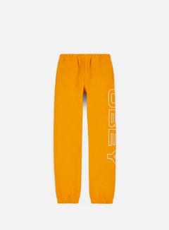Obey - Line Fleece Pants, Gold
