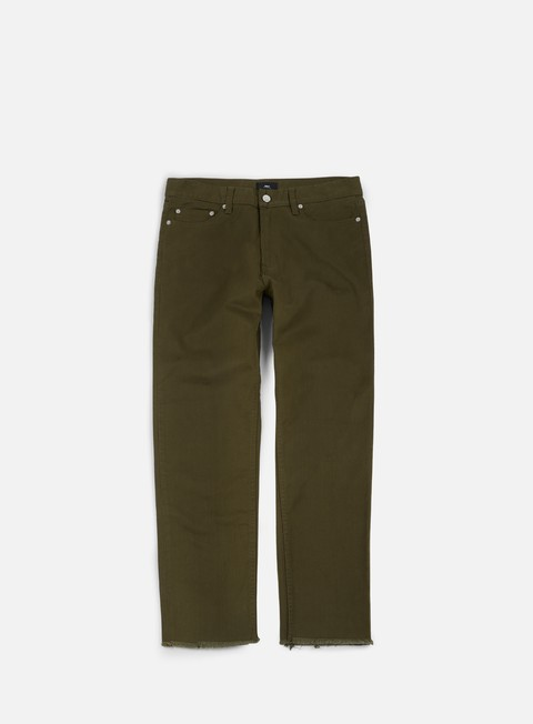 pantaloni obey new threat twill cut pant army
