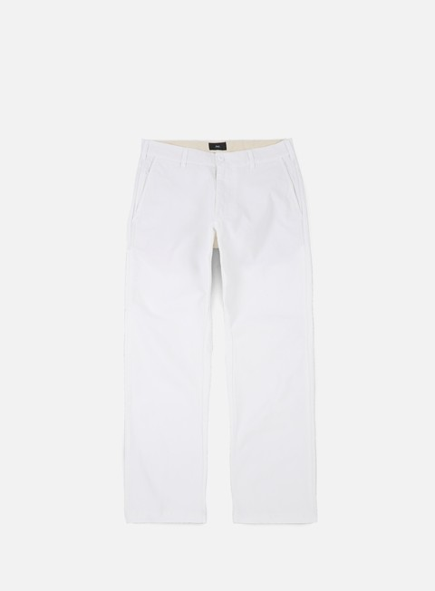 pantaloni obey straggler ii carpenter pant white