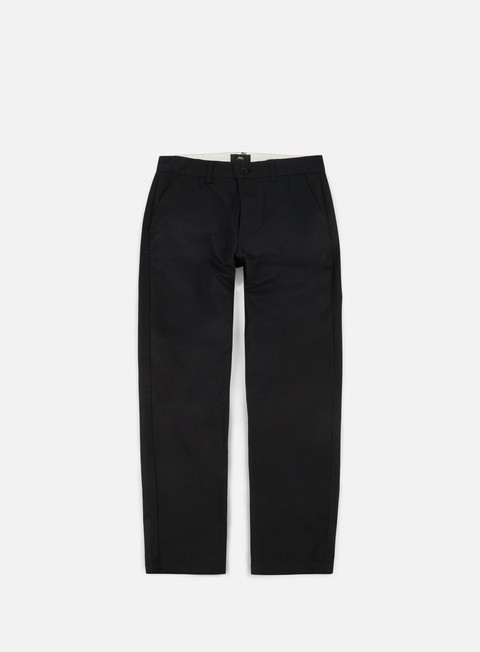 pantaloni obey straggler light flooded pant black
