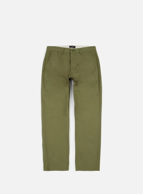 pantaloni obey straggler light flooded pant light army