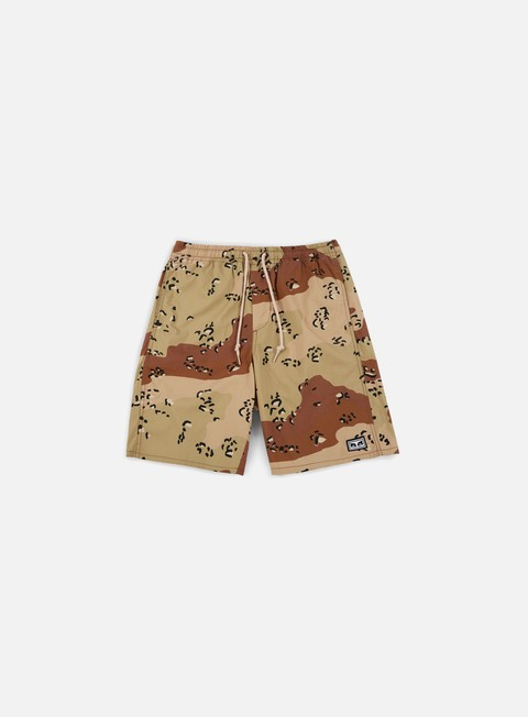 pantaloni obey subversion short choco chip camo