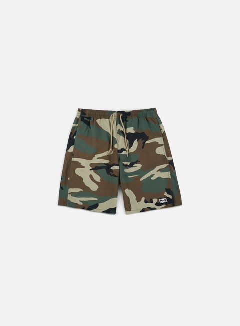pantaloni obey subversion short field camo