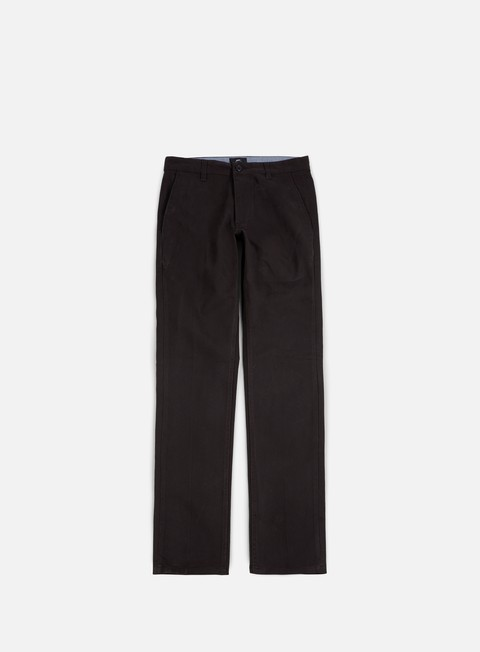 pantaloni obey working man ii chino pant black