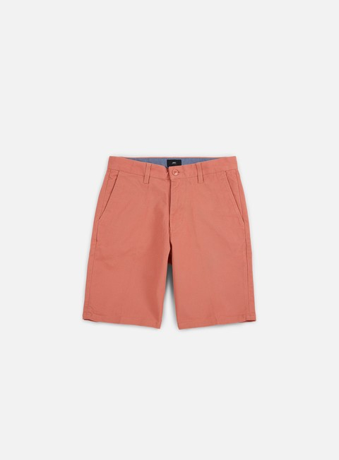 pantaloni obey working man ii short dusty rose grey