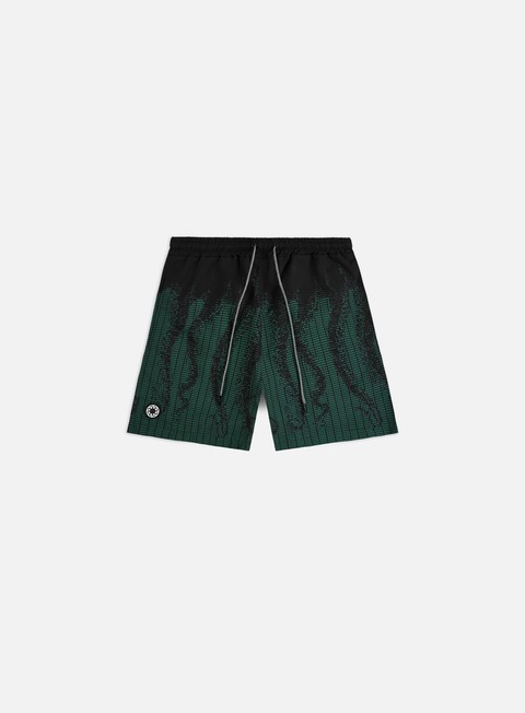 Octopus Octopus Ascii Swim Trunks