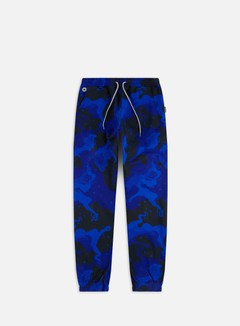 Octopus - Octopus Camo Jogger Pants, Royal Blue