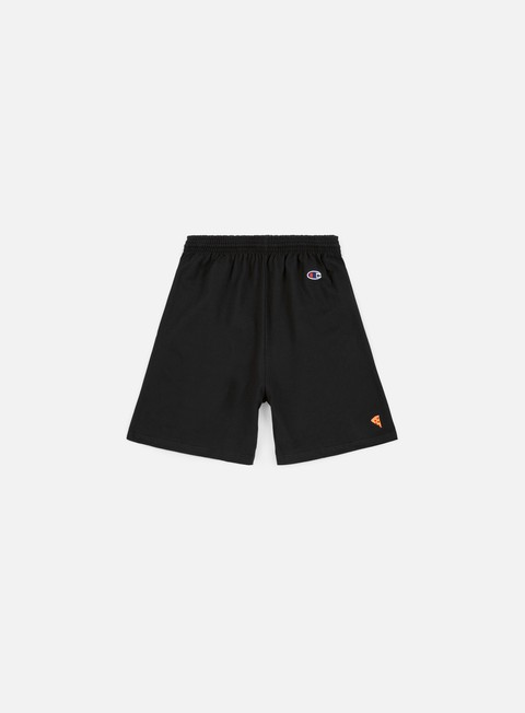 pantaloni pizza skateboards emoji champion short black