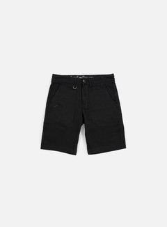 Publish - Kea Twill Short, Black