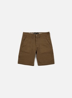 Publish - Kea Twill Short, Dark Tan 1