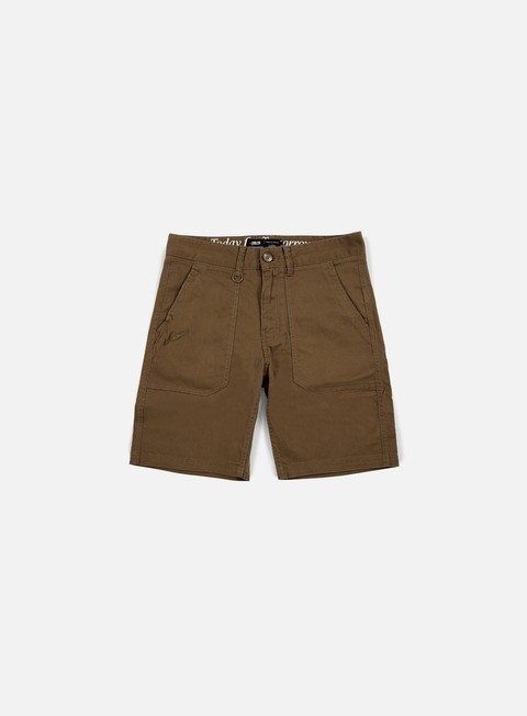 pantaloni publish kea twill short dark tan
