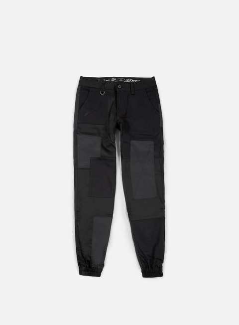 pantaloni publish marcello twill jogger pant black