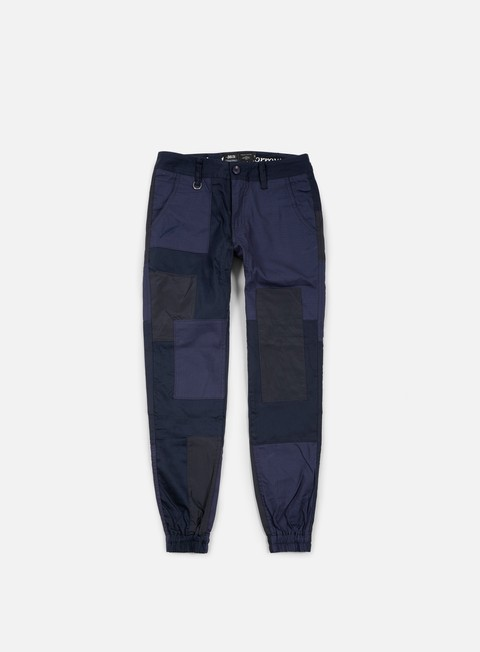 pantaloni publish marcello twill jogger pant navy
