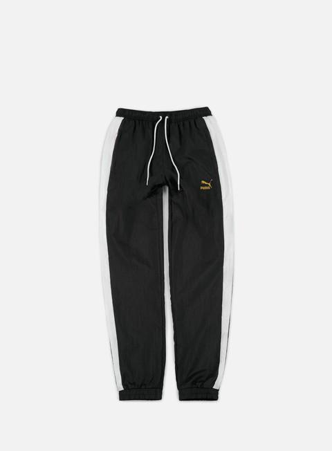 pantaloni puma b boy track pants puma black white