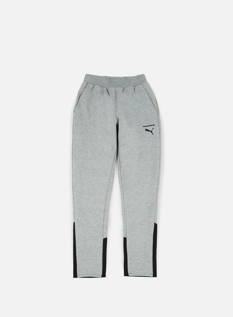 pantaloni puma evo core pants medium grey heather