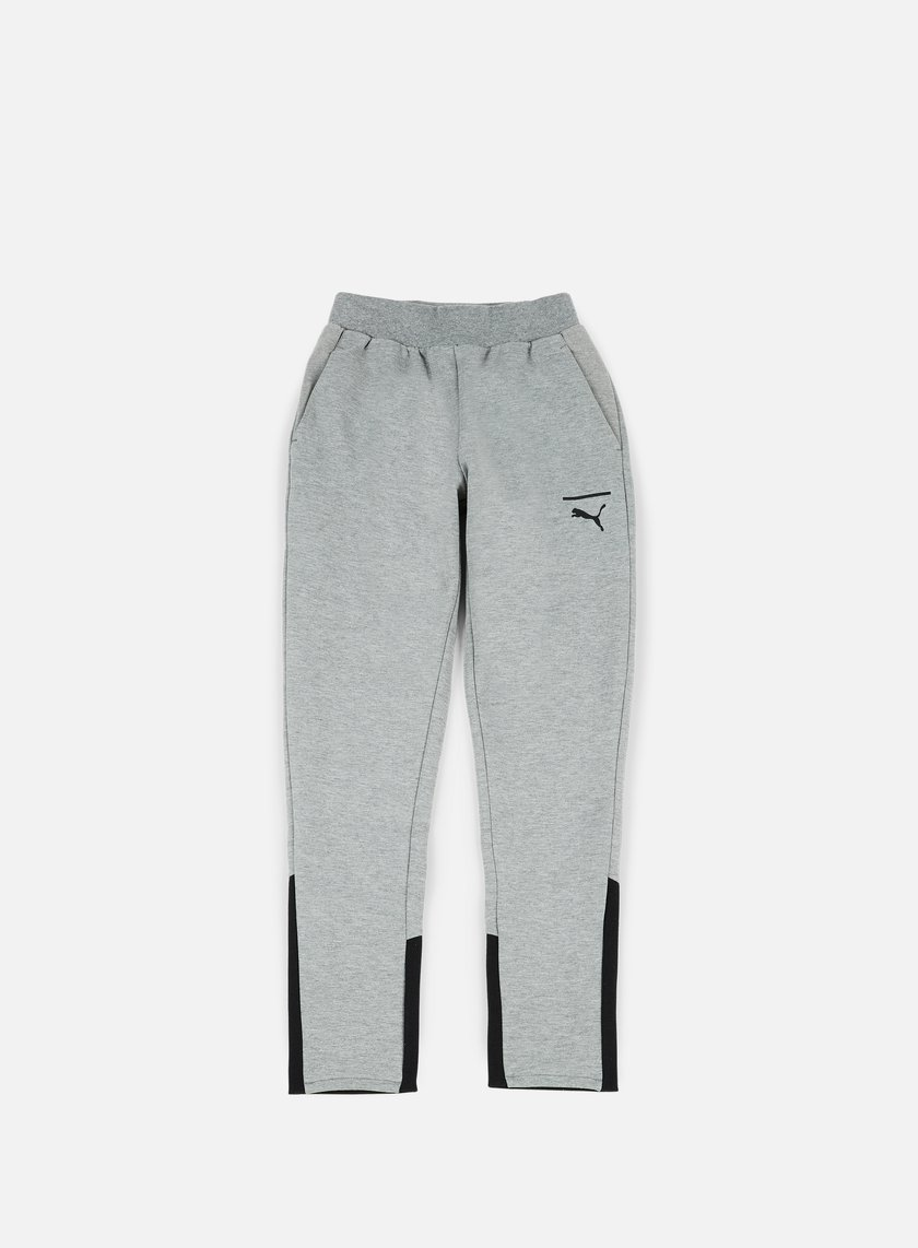 Puma - Evo Core Pants, Medium Grey Heather