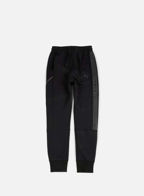 pantaloni puma evo core sweat pants puma black