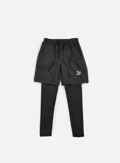 pantaloni puma evo embossed layered tight puma black
