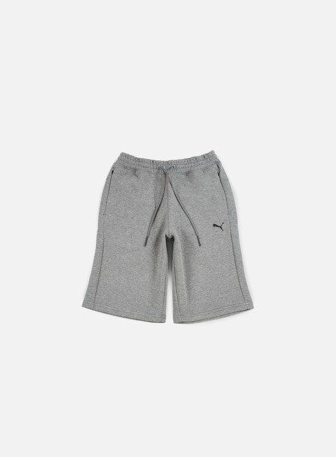 pantaloni puma evo image bermuda medium grey heather