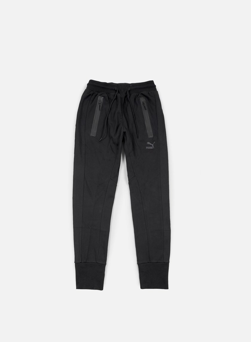 Puma - Evo Mesh Sweat Pant, Black