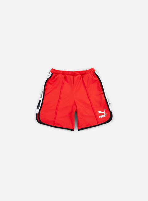 pantaloni puma super puma shorts puma red