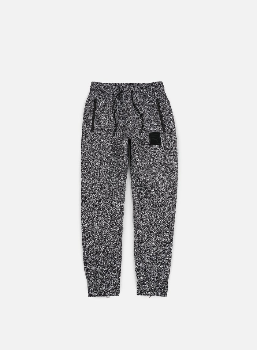 Puma - Trapstar Sweat Pants, Puma White/White Noise